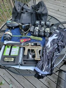Complete Paintball Setup with Eclipse Etha2 Marker - Only Used Twice!