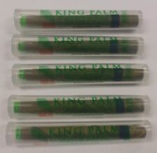 KING PALMS 5 PACK KING ROLLS HAND-ROLLED NATURAL LEAF 100% TOBACCO FREE