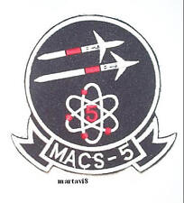 US.Marines `MACS-5` Squadron Cloth Badge / Patch (S4)