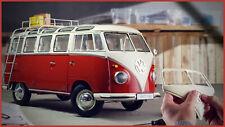 1/8 VW Bus T1 Samba Deagostini Bausatz NEU alle Ausagben noch eingeschweißt