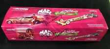 "Shirley ""Cha Cha"" Muldowney Signed Action 1:24 Top Fuel Dragster JSA LOA COA"