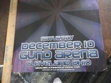 Vintage 2005 U2 Belkin Production Concert Poster