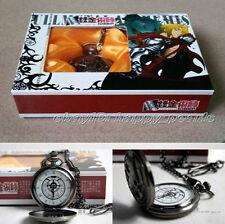 FULLMETAL ALCHEMIST Pocket watch VINTAGE STYLE Edward Elric Pocket watch