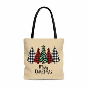 Christmas Tree Tote Bag | Tree Farm Tote | Christmas Tote Bag | Christmas Gift B