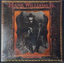 HANK WILLIAMS JR. - LONE WOLF 1990 STILL SEALED ALBUM WARNER/CURB REC 9 26090 1