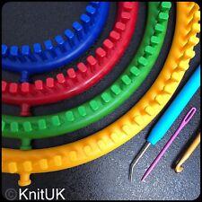 Serenity Knitting Loom con 294 pioli Knituk S-Guaina EXTRA-esegue il pegging sono montati in.