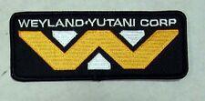 "ALIEN Movie-Weyland Yutani Corp  4"" Uniform Logo Patch- FREE S&H (ALPA-WEY)"