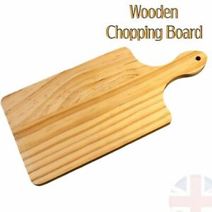 Small Wooden Chopping Board Serving Platter Tray Cheese Tapas Pudding Dessert