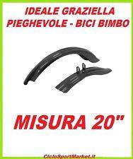 """COPPIA PARAFANGHI per GRAZIELLA - PIEGHEVOLE misura 20"""" in PVC resistente"""