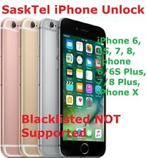FAST APPLE IPHONE UNLOCK SASKTEL 6S/7/8/PLUS/X  - ALL MODELS 24 HOURS, NO BL