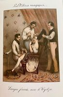 Friseur Barber Kiss Coiffeur Sex Penis Vagina Hairdresser Erotik Love Art 1830