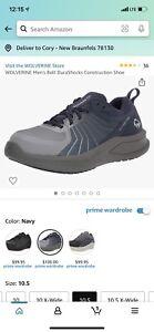 WOLVERINE Men's Durashock Construction Shoes