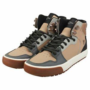 Supra Vaider CW Nitro High Top Skate Shoe Sneaker Chanterelle Bone Men's US 9.5