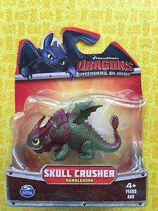 HOW TO TRAIN YOUR DRAGON DEFENDERS of BERK SKULLCRUSHER RUMBLEHORN MINI FIGURE