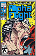 ALPHA FLIGHT #106 NORTHSTAR REVEALS GAY NM 2ND PRINT