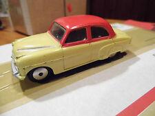Corgi 203 Vauxhall Velox Saloon (red / yellow ) no box play wear
