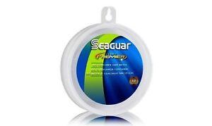 SEAGUAR PREMIER FLUOROCARBON LEADER LINE 20 25 30 40 50 60 80 100 LB SELECT SIZE