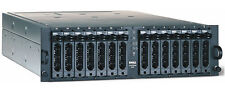Dell Powervault 220s 14-Bay 2-Channel 2-PWS U320 SCSI JBOD Enclosure w/ Trays