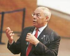 Colin Powell Signed Reprint 8x10 Photo 005