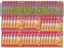 100 PCS THAI BENTO SQUID SEAFOOD SNACK SEASONED RED SWEET SPICY YUMMY DELICIOUS