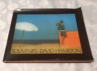 David Hamilton Souvenirs Hardback Cover - Dust Cover Damage -