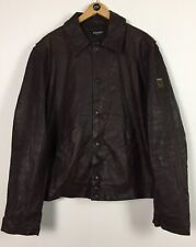 Men's Ferrari Leather Jacket / XXL / Made In Italy / Official Product / Casual