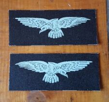 Royal Air Force Eagles reproduction printed badges WWII  for Battledress or SD
