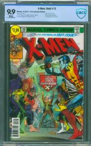X Men Gold 13 CBCS 9.9 Caldwell Exclusive Variant up CGC 9.8 X-Men 100 Homage