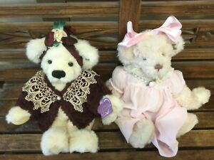 """Beautiful lot of 2 Annette Funicello 16"""" Bears"""