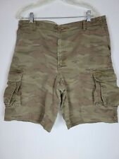 Izod Camo Cargo Shorts Mens Size 36