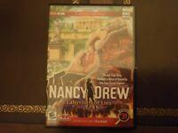 Nancy Drew: #31 - Labyrinth of Lies; WIN MAC - BONUS EDITION - w/ STRATEGY GUIDE