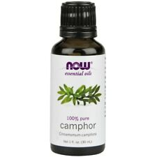Now Foods Camphor Oil 100% Pure & Natural - 1 oz