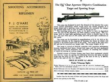 PJ O'Hare c1938 Shooting Accessories for Riflemen No. 10