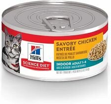 New listing Hill's Science Diet Wet Cat Food, Adult, Indoor