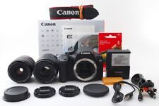 Canon EOS Kiss X4/Rebel T2i/550D 18.0MP 35-80/80-200mm Lens [Exc+++] w/Box [jkh]