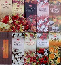 20 - 200 Sticks Incense 10 Scents 2 Choose or Mixed Hem Hex Fruit Fruity Insence Cherry Jasmine - 20 Stick Pack