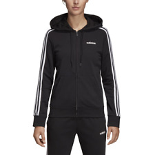 Adidas Felpa Donna Essentials 3-stripes Nera Taglia M cod Dp2419 - 9w