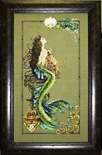"SALE! COMPLETE XSTITCH KIT ""MERMAID OF ATLANTIS MD95"" by Mirabilia"