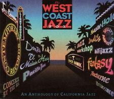 4 CD-Box avec Livre West Coast Jazz à Anthology of California Jazz Various 1998
