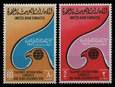 Ver. Arabische Emirate 1976 - Mi-Nr. 73-74 ** - MNH - Falknerei