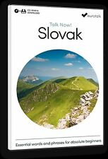 Eurotalk Talk Now SLOVAK PARA PRINCIPIANTES - Descarga Opción and CD ROM