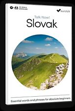 Eurotalk Talk Now Slovak for Beginners - Download option and CD ROM