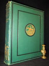 BRITISH SPORTING ARTISTS 1922 Color Plates FINE BINDING Horses EQUESTRIAN Rare