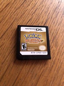 Pokemon heartgold DS original NO BOX cart only authentic