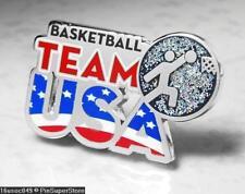 Olympic Pins Badge 2016 Rio De Janeiro Brazil Usa Usoc Icon Basketball