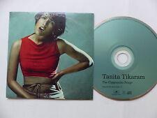 Advance CD promo TANITA TIKARAM The Cappuccino songs 10 titres 7101