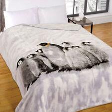 imprimé animalier Mink FAUSSE FOURRURE CHAUD Jeté de lit couverture polaire
