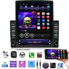 """1DIN Rotatable 10.1"""" Android 9.1 HD Quad-core 2GB+32GB Car Stereo GPS Hands Free"""