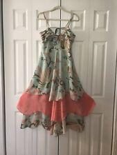 H&M Bohemian Deluxe Collection Gisele Bundchen Ruffle Floral Maxi Dress