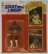 Kenner Starting Lineup Michael Jordan Action Figure with Collectible Cards